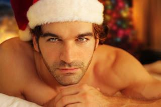 bigstock-Romantic-Santa-10536773